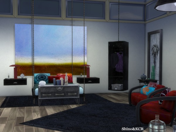 The Sims Resource: Bedroom Loft by ShinoKCR