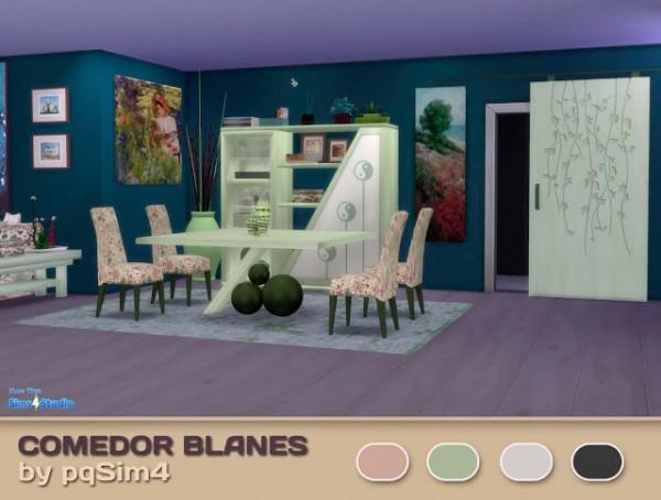 PQSims4: Diningroom Blanes