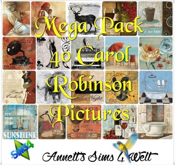 Annett`s Sims 4 Welt: Mega Pack   40 Carol Robinson Pictures