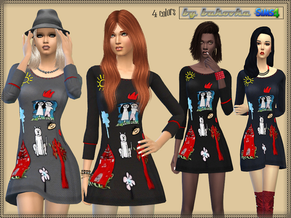 The Sims Resource: Dress Childrens Drawings by Bukovka