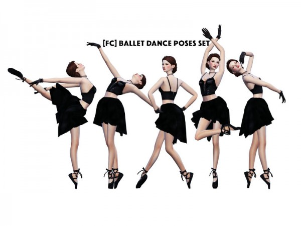 The Sims Resource Ballet Dance Poses Set By Flower