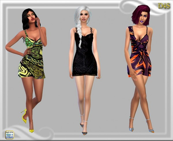 Dreaming 4 Sims: Fallen dress