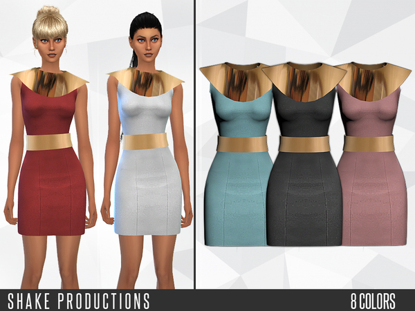 The Sims Resource: 44   Dress by ShakeProductions