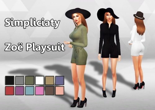 Simpliciaty: Zoë Playsuit