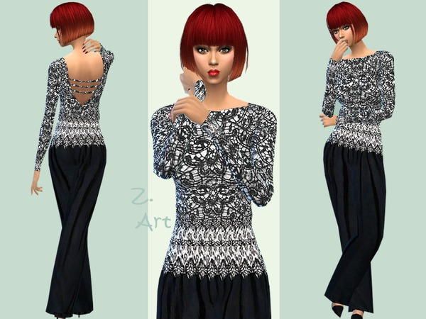 The Sims Resource: Anytime dress by Zuckerschnute20