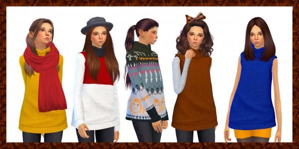 Dani Paradise: Warm sweaters + Sweater vests