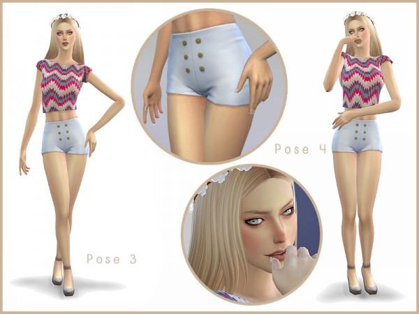 Mod The Sims: LEMONADE   Simple Pose Pack by Screaming Mustard