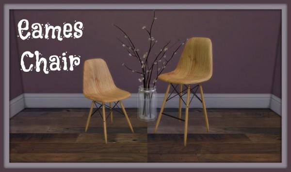 Dinha Gamer: Eames Wooden Chair