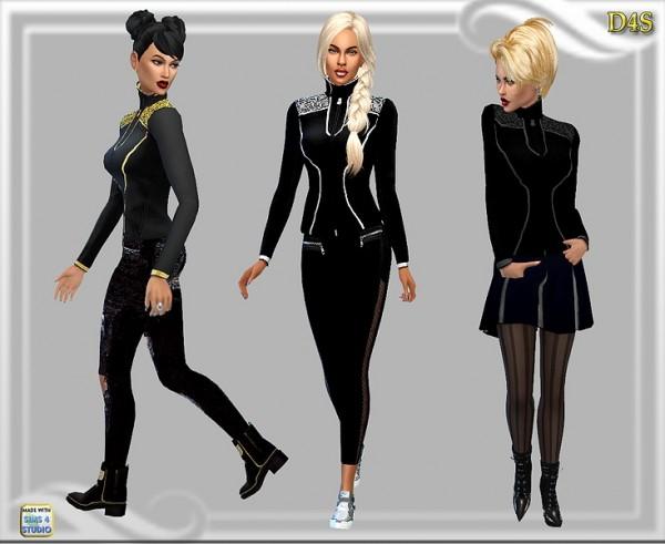 Dreaming 4 Sims: Jake top collar