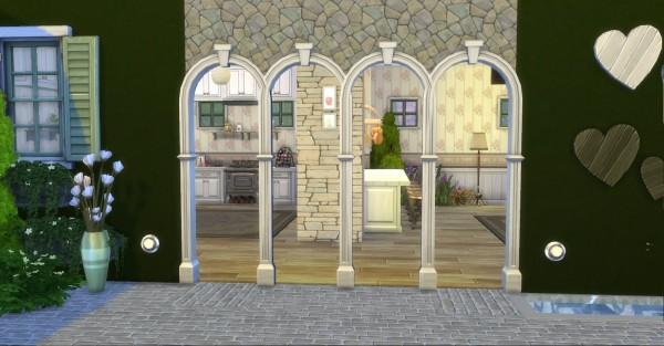 Mod The Sims: Praire Post and Arch with Keystone by AdonisPluto