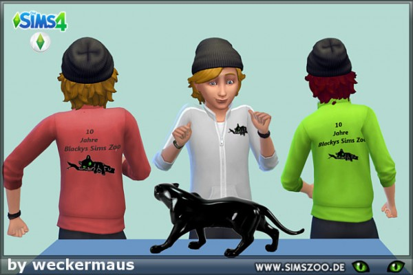 Blackys Sims 4 Zoo: Zoo Sweater by weckermaus