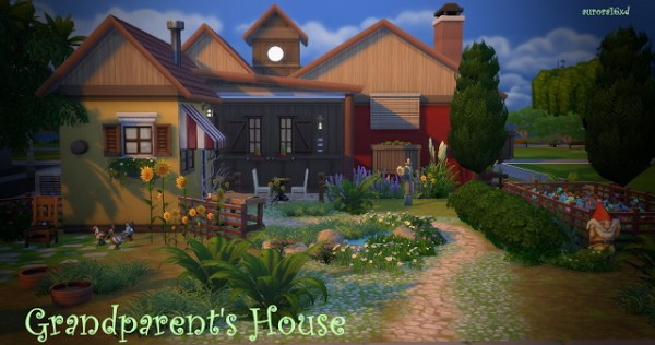 Sims My Homes Grandparents House Sims 4 Downloads