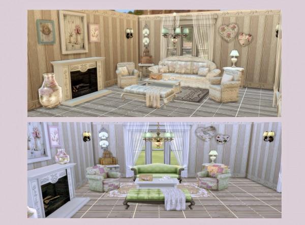 Alelore Sims 4 Shabby Chic Stuff Sims 4 Downloads