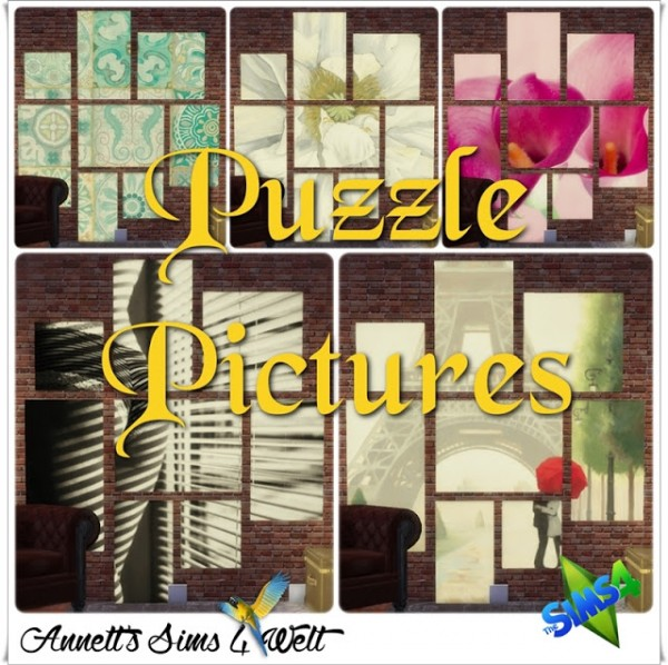 Annett S Sims 4 Welt Puzzle Pictures Sims 4 Downloads