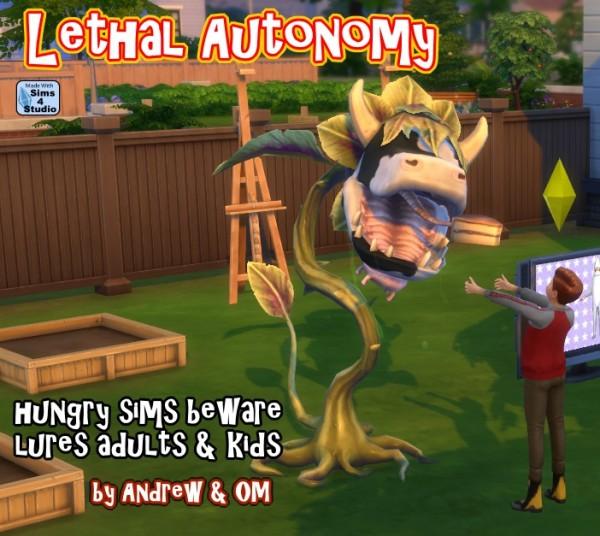 Sims 4 Studio: Lethal Autonomy
