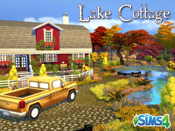 Akisima Sims Blog: Lake Cottage
