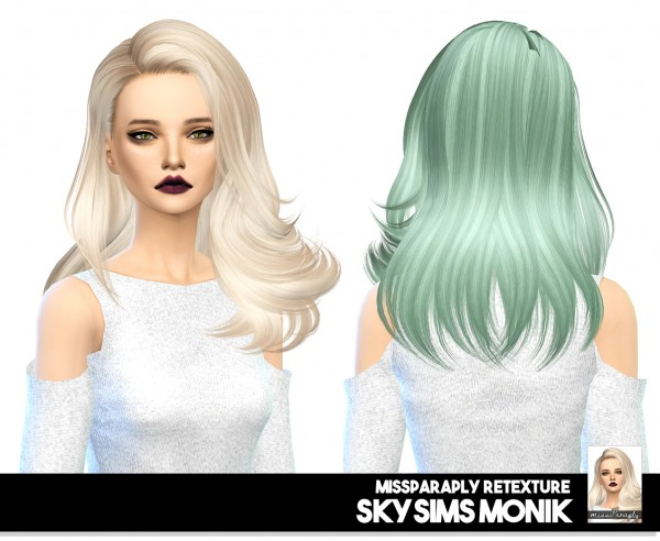 Miss Paraply: Skysims Monik: solid textures