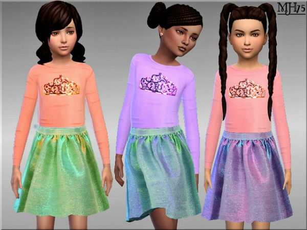 Sims Addictions: Little Missy Outfit by Margies Sims