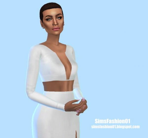 Sims Fashion 01: Fashion Dress