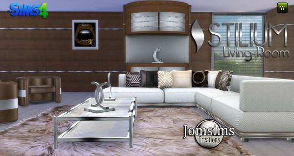 Jom Sims Creations: Stilium livingroom