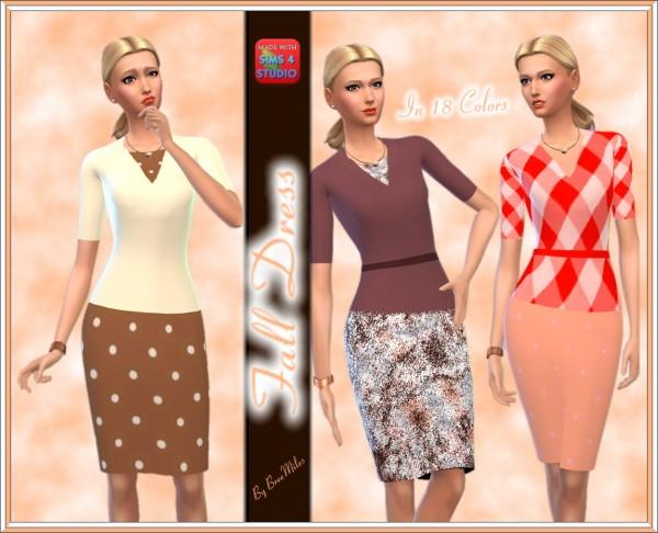 Bree`s Sims Stuff: Fall Dress