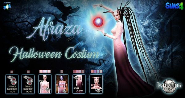 Jom Sims Creations: Afraza halloween complet costume