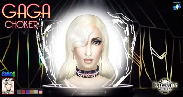 Jom Sims Creations: Gaga choker