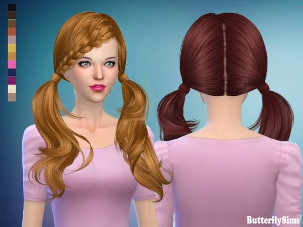 Butterflysims: B flysims hair 052 No hat