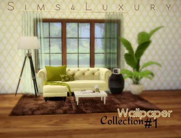 Sims4Luxury: Wallpaper collection 1