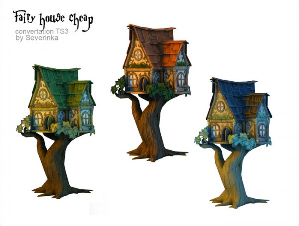 Sims By Severinka Fairy House Sims 4 Downloads