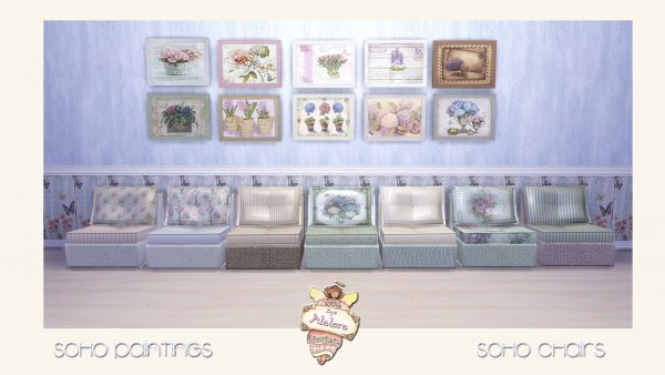 Alelore Sims 4: Soho collection