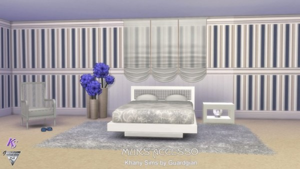 Khany Sims: Murs ACCESSO by Guardgian