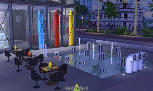 Around The Sims 4: Modern Art Museum