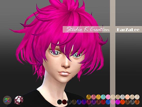 Studio K Creation: Animate hair 33   Carl