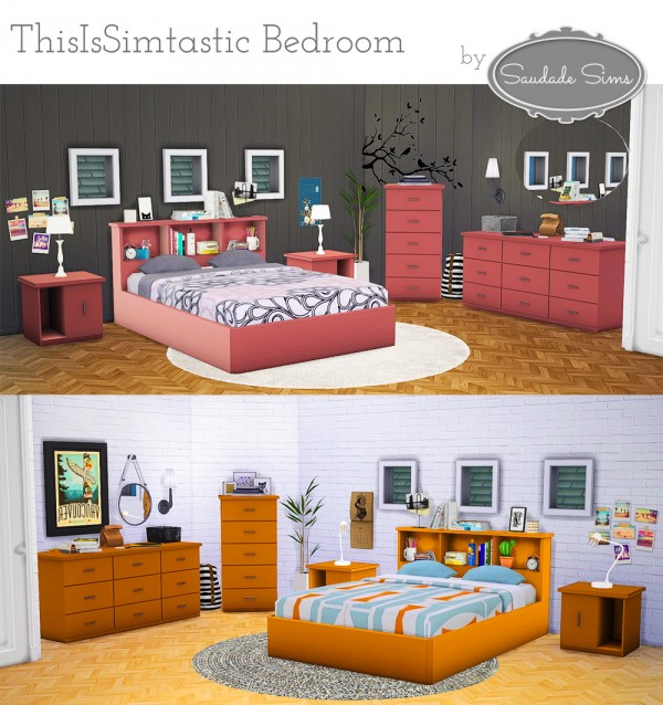 Saudade Sims Simtastic Bedroom Sims 4 Downloads