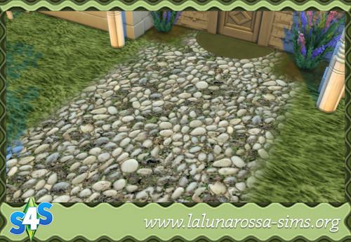La Luna Rossa Sims: Pebbles Terrain