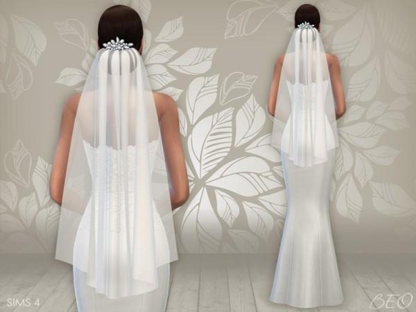 BEO Creations: Wedding dress 02 and veil