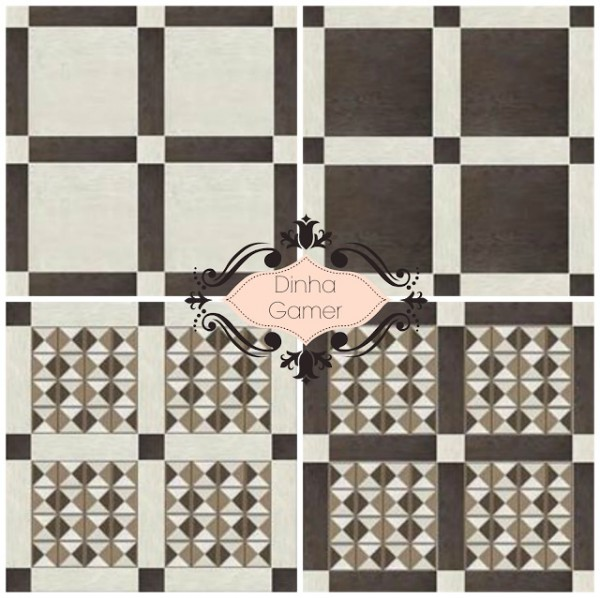 Dinha Gamer: Classic Ceramic Tiles