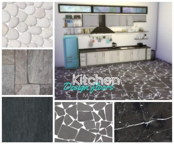 Sims4Luxury: Kitchen design floors 2