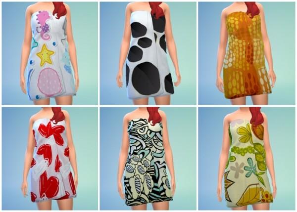 Los Sims de Miko: Towels Fun