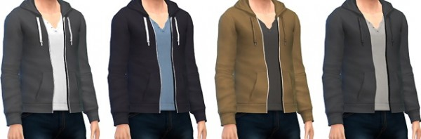 Marvin Sims: Men's Zip Up Hoodies