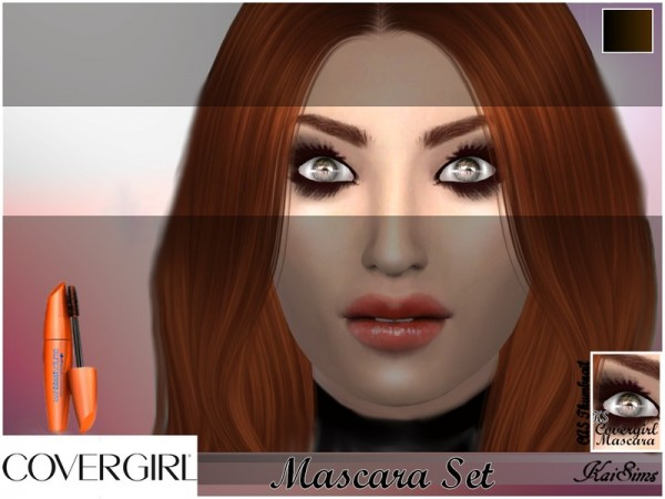 The Sims Resource: Covergirl Mascara Set1 by KaiSims