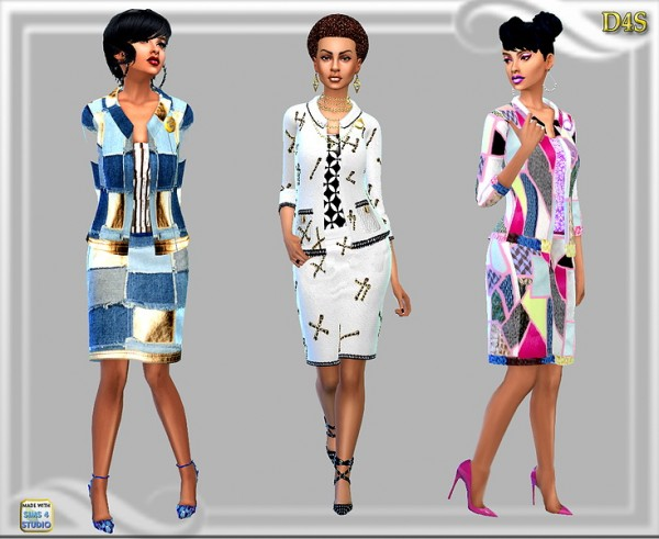Dreaming 4 Sims: Designer Outfit