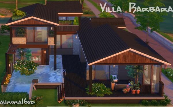 Sims My Homes: Villa Barbara