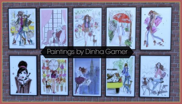 Dinha Gamer: Elegant Paintings 101