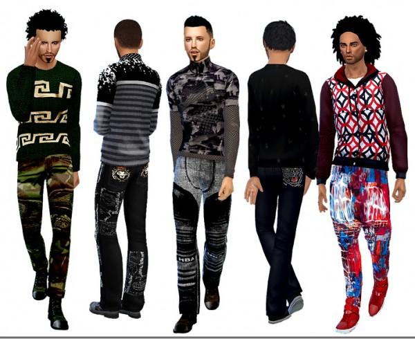 Dreaming 4 Sims: Pants