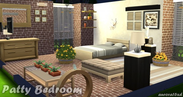 Sims My Rooms: Patty Bedroom