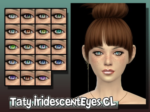 The Sims Resource: Iridescent Eyes by Taty