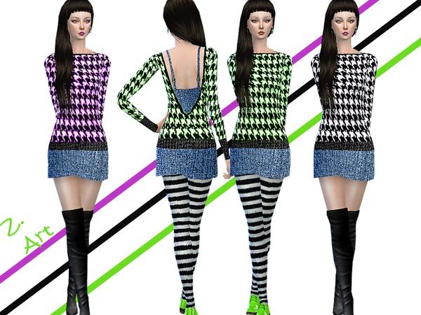 The Sims Resource: Pepita and Denim by Zuckerschnute20