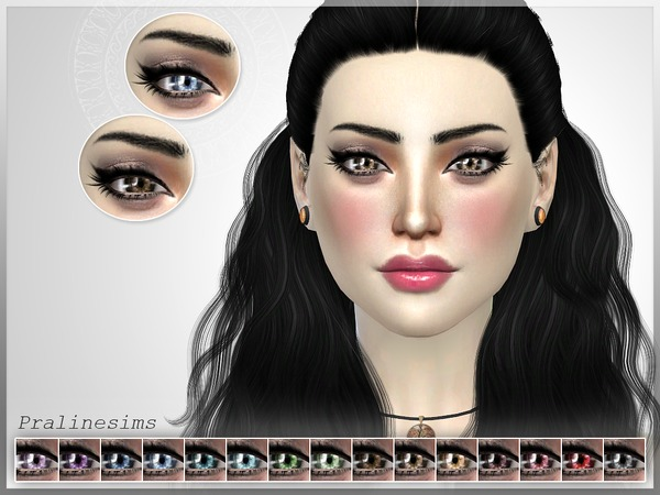 The Sims Resource: Elize Eyes N32 by Pralinesims